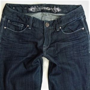 Express Curvy Boot Cut Jeans, 4
